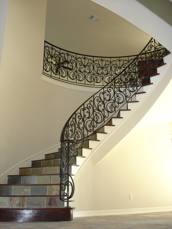 Elegant ... Custom Iron Tuscan Panels ...
