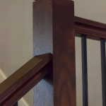 6084 Handrail with 4000 Newel with Cap
