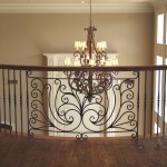 custom iron balcony centerpiece 4