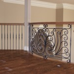 custom iron balcony centerpiece 5