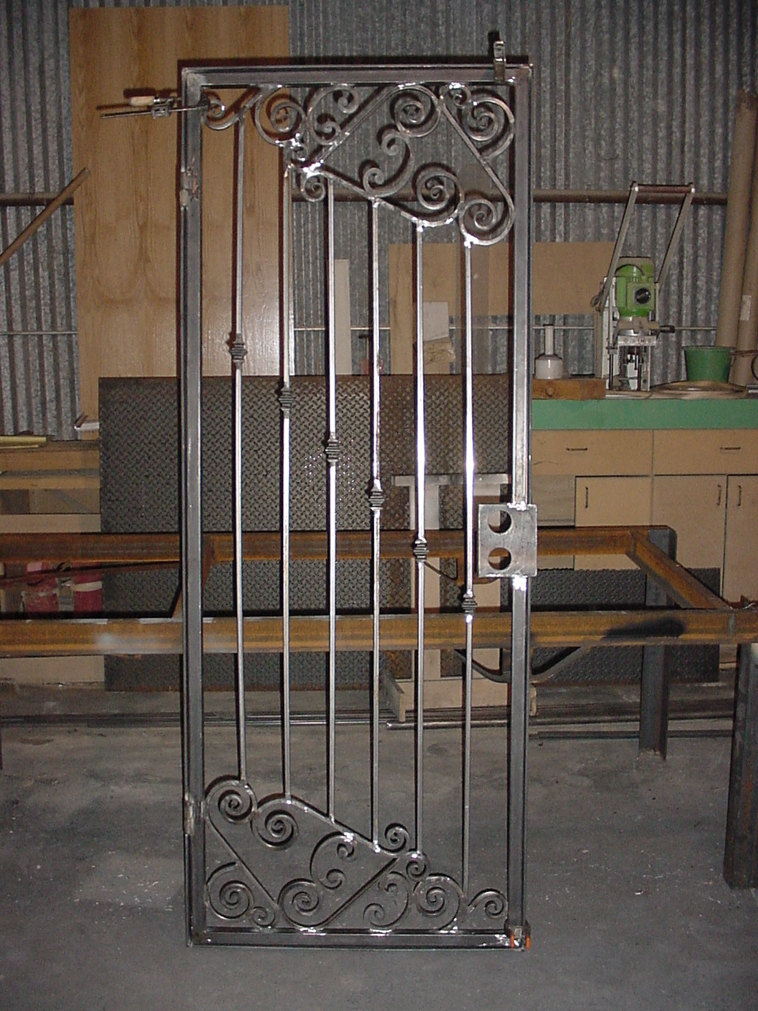 Top iron door design company joy studio design gallery for Door design of iron