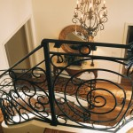 custom iron panel stairs 3