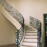 custom iron panel stairs 4