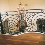 custom iron panel stairs 5