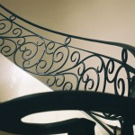 custom iron panel stairs 6