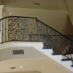 custom iron stair panels 2