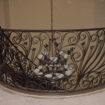 custom iron stair panels 3