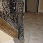 custom iron stair panels 4