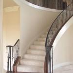custom iron stairway 1