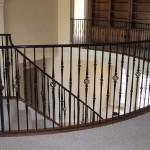 custom iron stairway 2