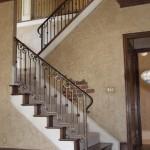 custom iron stairway 4