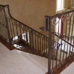 custom iron stairway 6