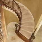 custom iron stairway 7
