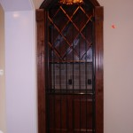 custom iron wine door 2
