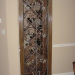 custom iron wine door 4