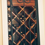 custom iron wine door 6