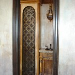 custom iron wine door 8