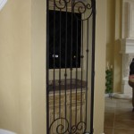 custom iron wine door 9