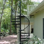custom outdoor spiral stairs 2