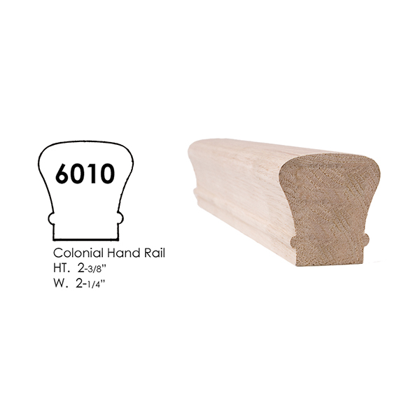 Wood Handrail And Wood Fittings For Stairs Amp Railings