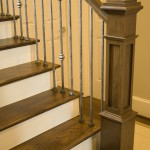 Box Newel with Versatile Balusters