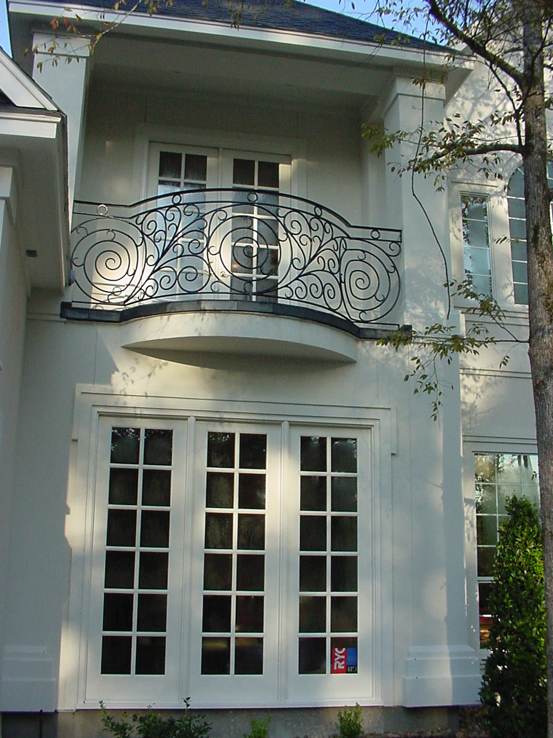 Front Elevation Steel Design : Juliet balconies growing in popularity