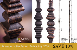 Baluster of the month sale-500x344