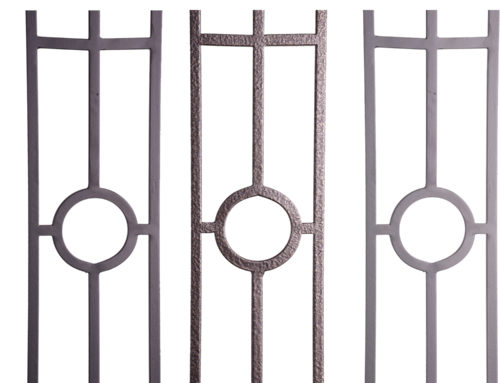 Aalto Series 3-Legged Panel with Center Circle Close Ups