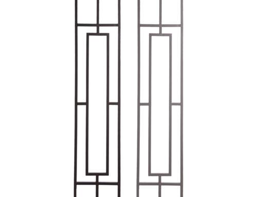 Aalto Series Single Rectangular Rake Panel Close Ups