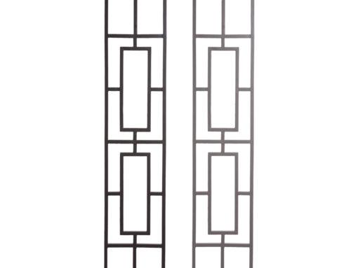 Aalto Series Double Rectangular Rake Panel Close Ups