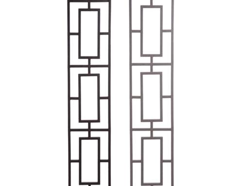 Aalto Series Triple Rectangular Level Panel Close Ups