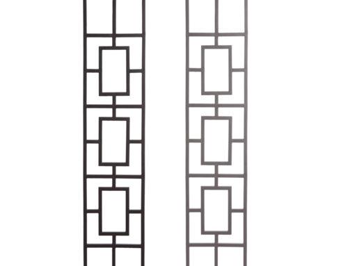 Aalto Series Triple Rectangular Rake Panel Close Ups