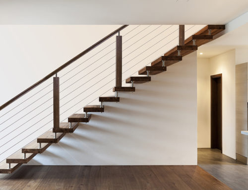 Cable Rail Modern Staircase