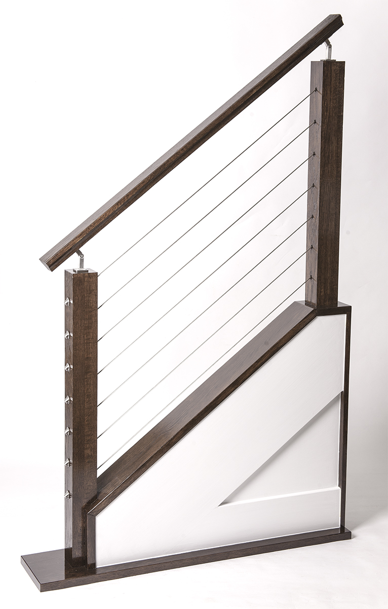 Cable Rail Staircase Model U2013 House Of Forgings | Stair And Railing Products