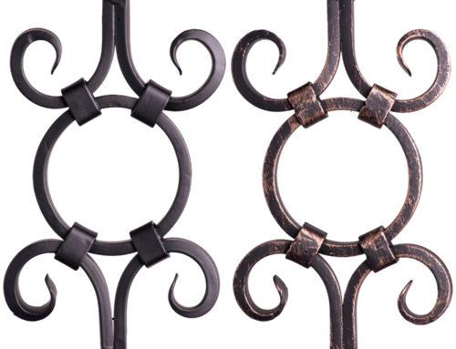Designer Tubular Square Series Sphere & Spiral Close Ups