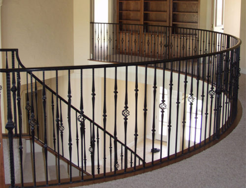 Gothic Basket & Decorative Tapered Baluster