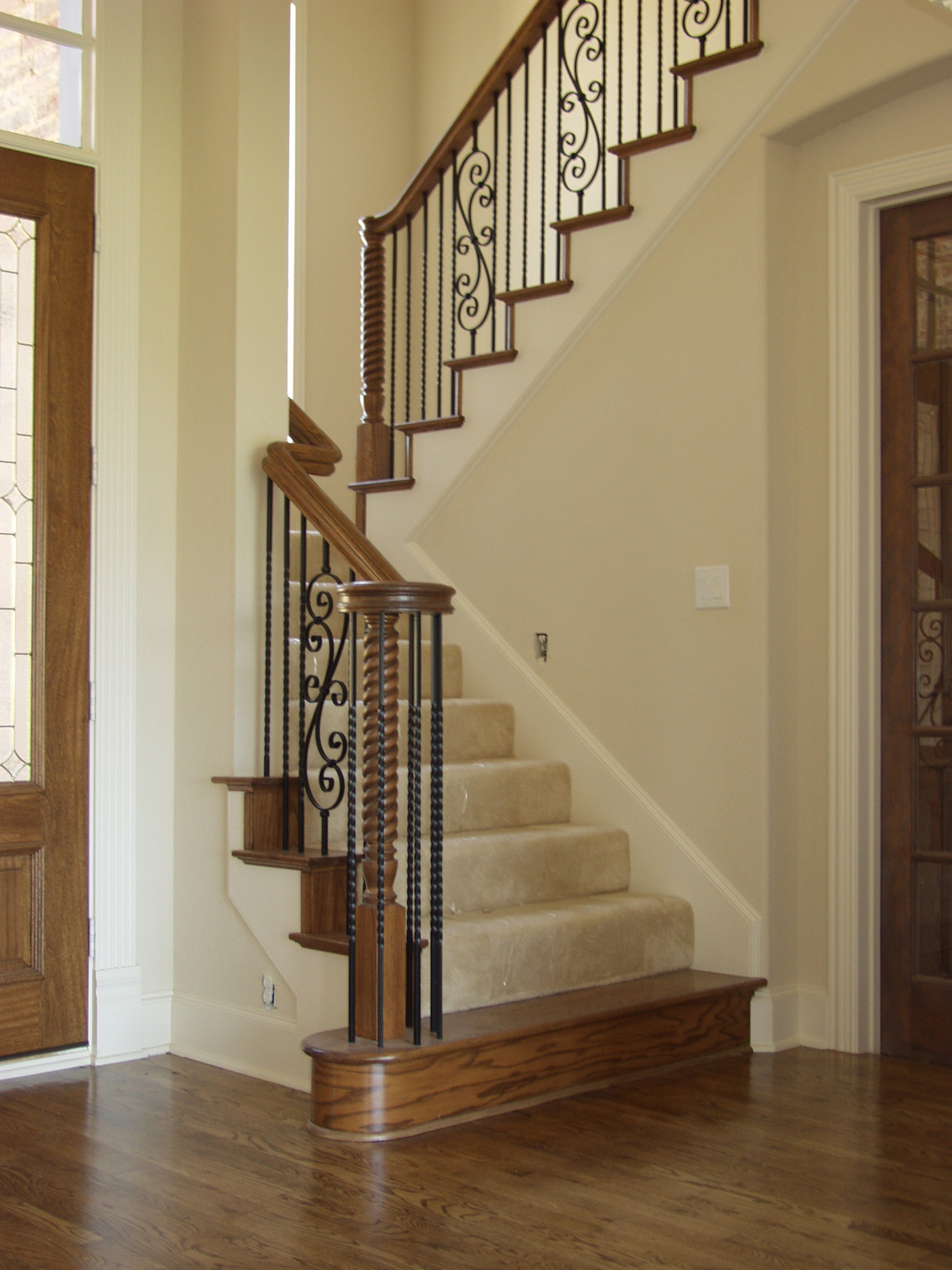 Twist Balusters And Spiral Scroll U2013 House Of Forgings | Stair And Railing  Products