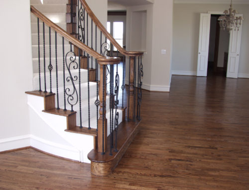 Twist Balusters and Spiral Scroll