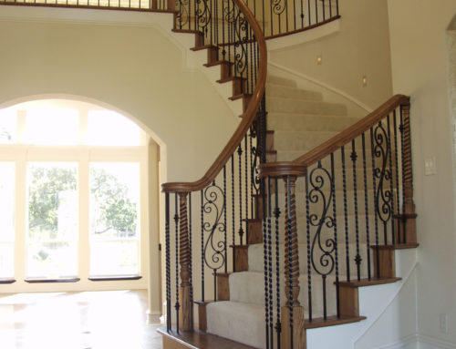Twist Baluster and Spiral Scroll