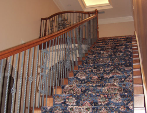 Twisted Baluster, Basket, & Heart Scroll