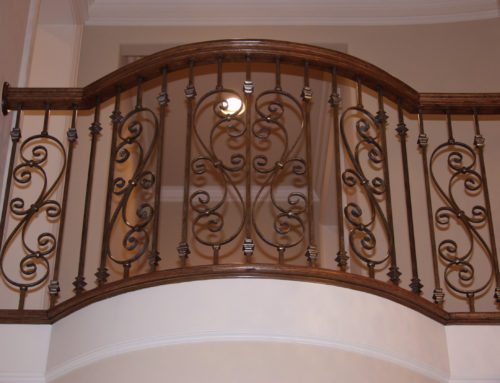 Versatile Balusters and Plain Scroll