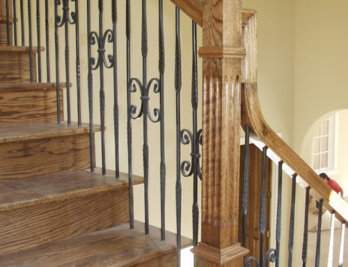 Round Series Butterfly & Feathered Balusters