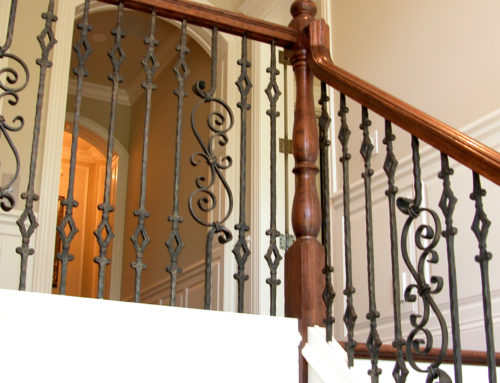 Tuscan Square Diamond Baluster & Spiral Scroll