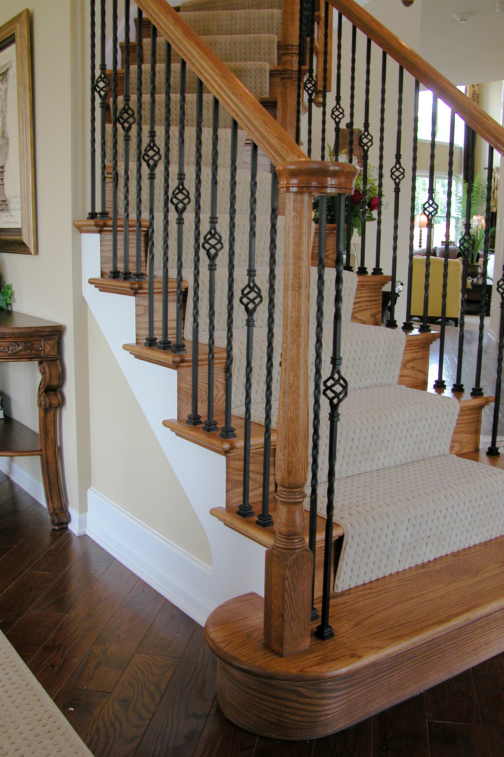 Long Twist Balusters Amp Baskets House Of Forgings Stair