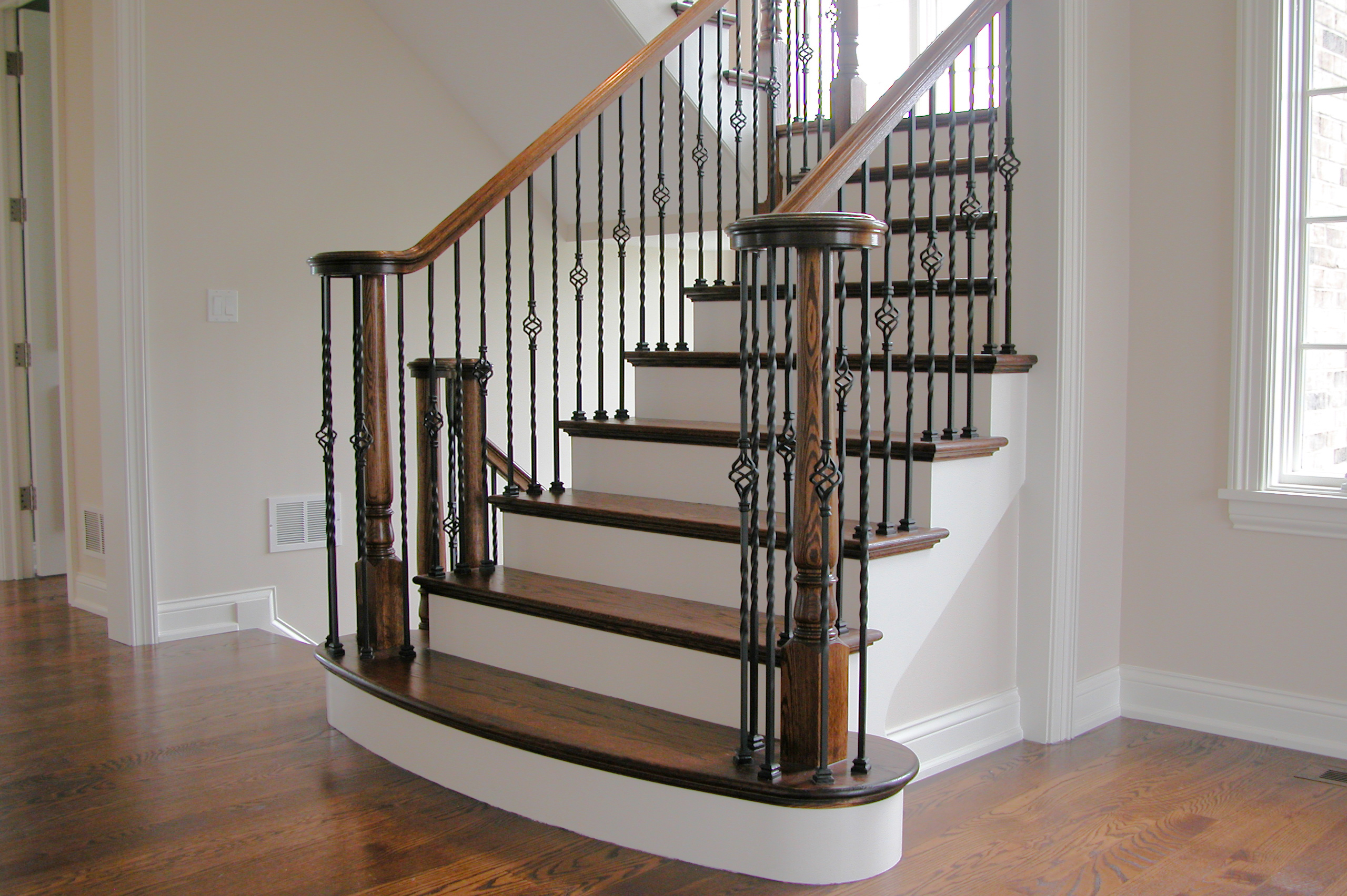 Long Twist Balusters U0026 Baskets U2013 House Of Forgings   Stair And Railing  Products
