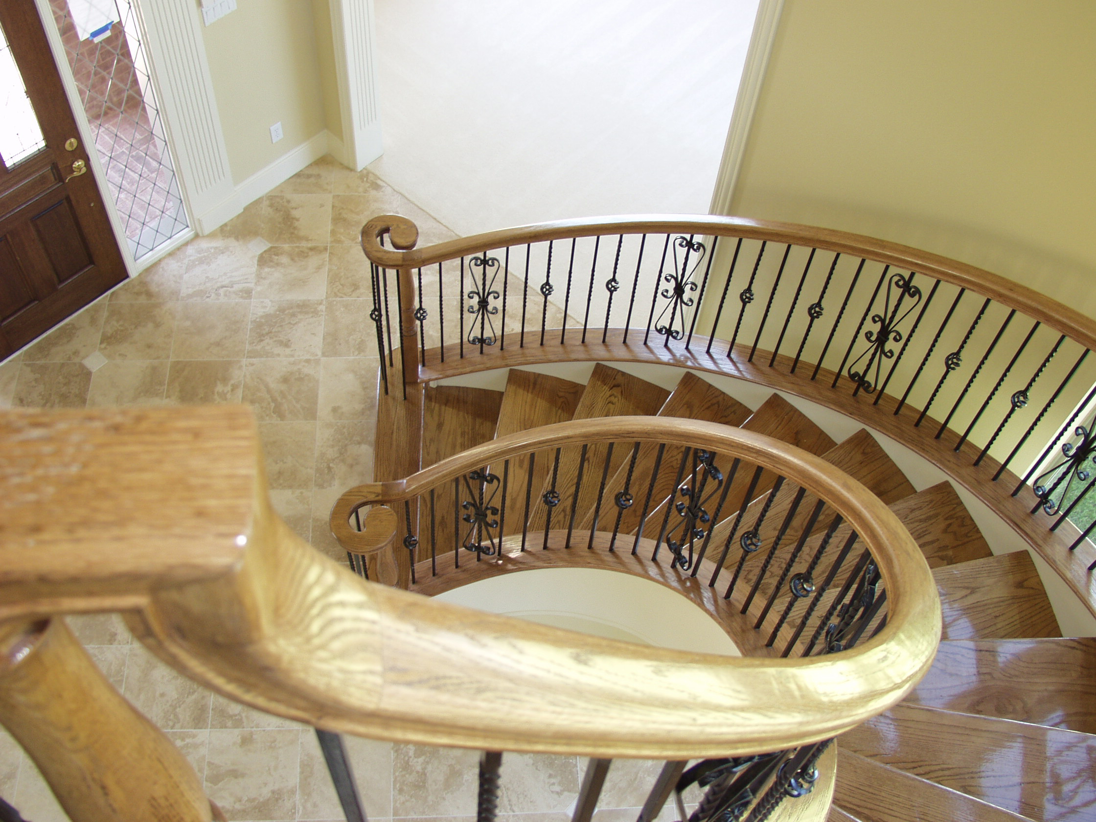 Twist Balusters Baskets And Heart Scrolls House Of
