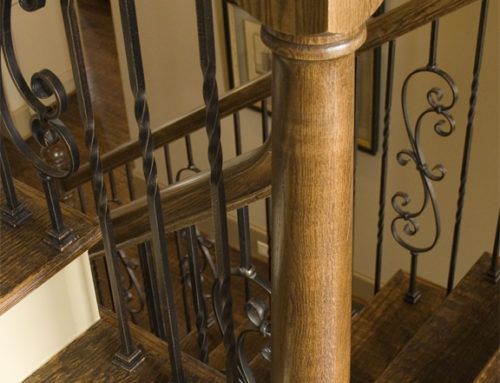 Twist Balusters and Plain Scroll