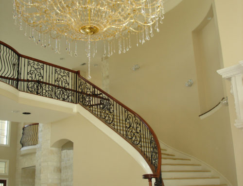 Spiral Panels & Round Feathered Balusters