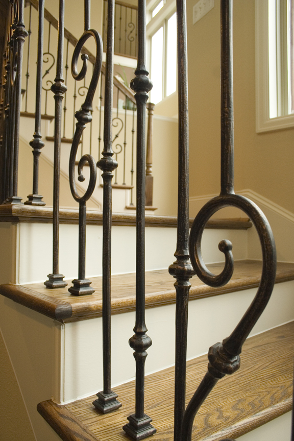 Tuscan Round Knuckle Balusters House Of Forgings Stair