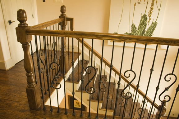 Wood Handrail and Wood Fittings for Stairs